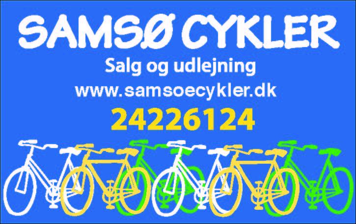 Samsø cykler 2020
