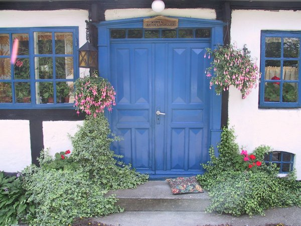 1-Blå dør - Stavns
