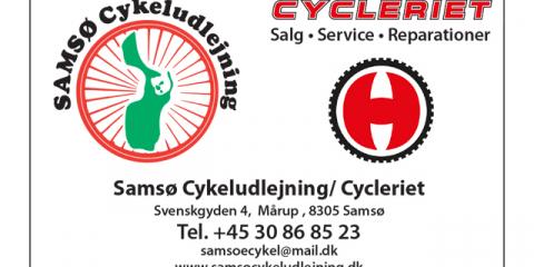 Samsø_cykeludlejning_postkort