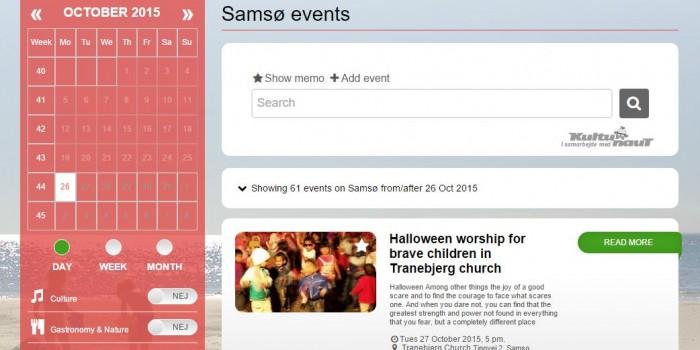 Events on Samsø