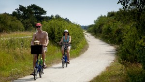 Cykelpar på Samsø