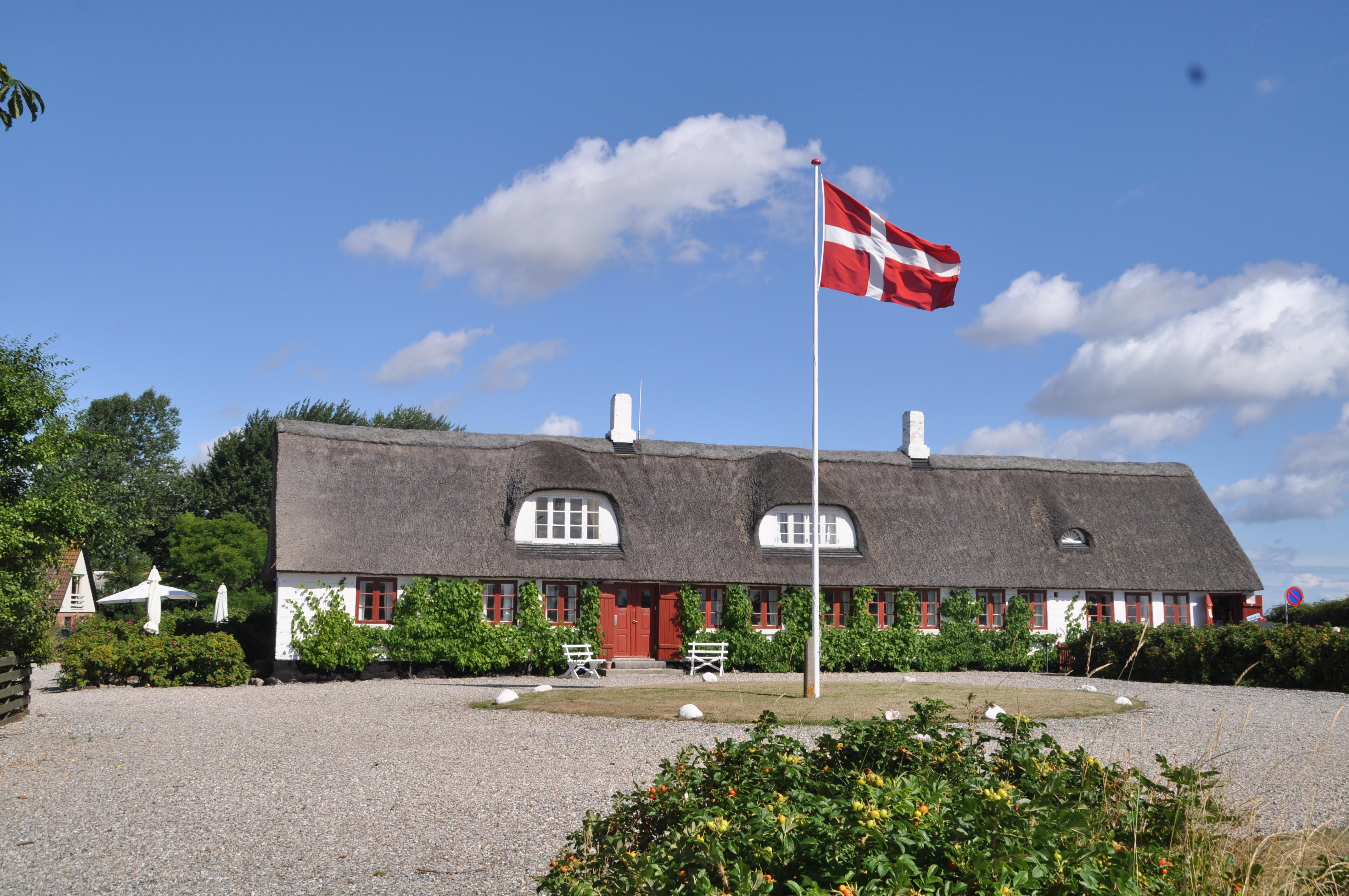 2 Købmandsgården set fra Havnen