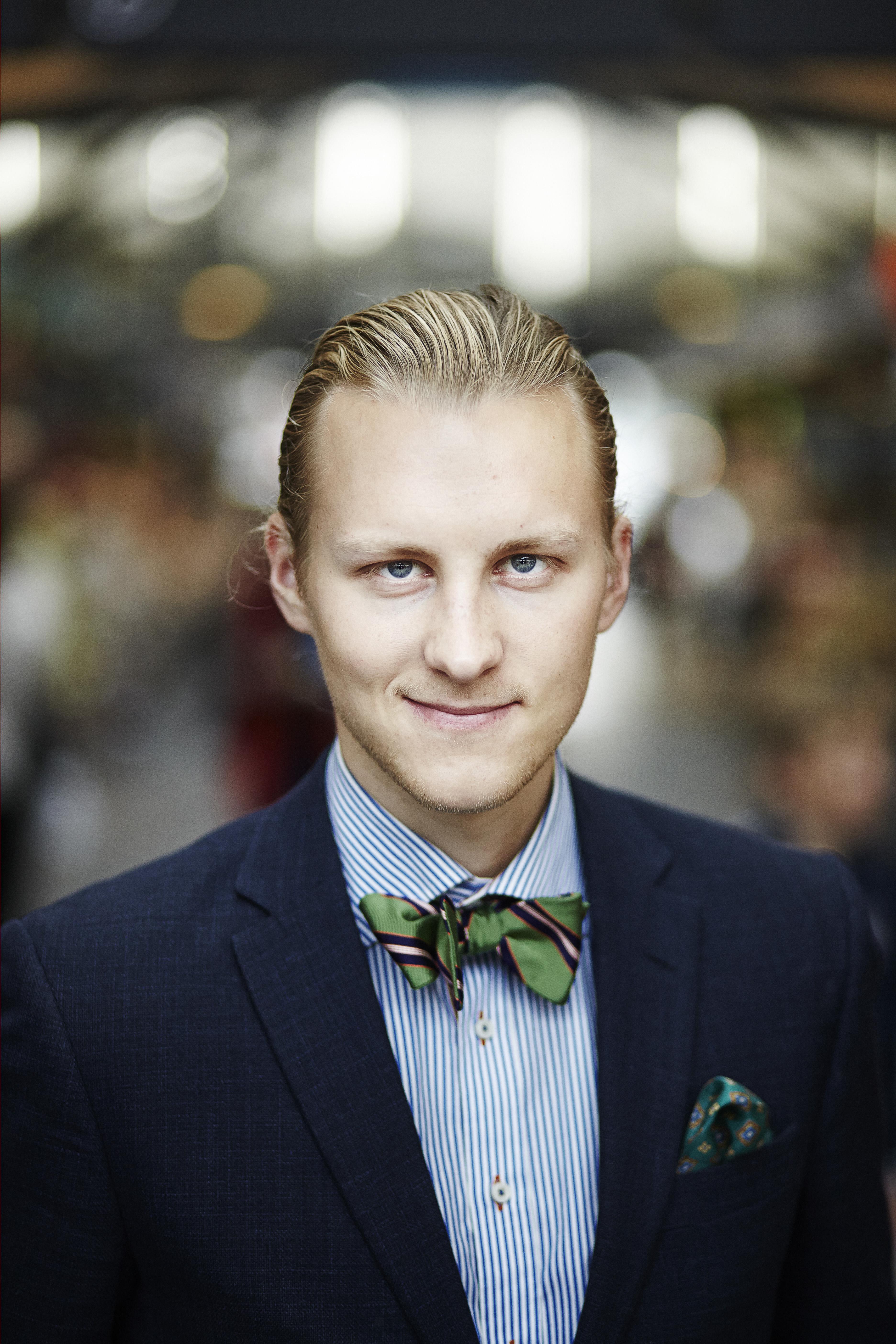 Journalist og manden bag feinschmeckeren.dk Rasmus Palsgård.