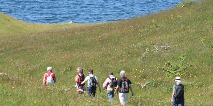 Hiking on Samsø