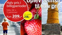 Samsø til halv pris, Jylland-Samsø, Samsø Rederi