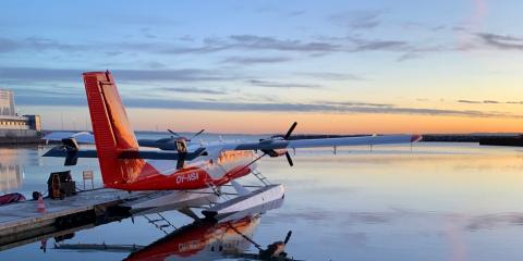 Nordic Seaplanes morgenafgang fra Aarhus