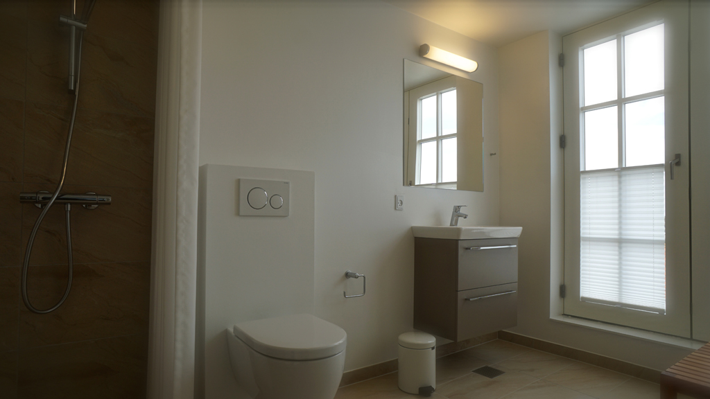 Ballen badehotel - badeværelse
