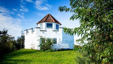 Besser Samsø udsigtstårnet med en dramatisk historie