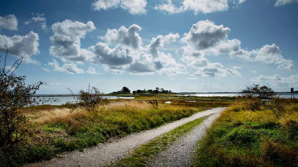 Langør-Samsø-vue-over-tangen-til-byen